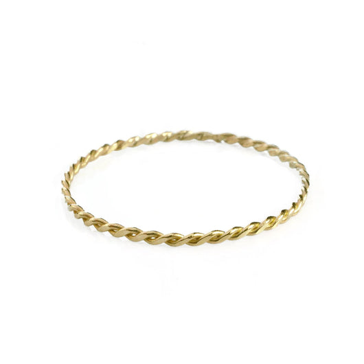 Super Skinny Golden Ring (twisted)
