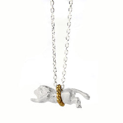 Flying Lion Necklace