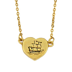 Love Ship Necklace