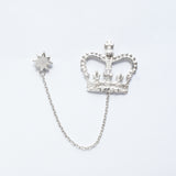 Crown and Star Pin