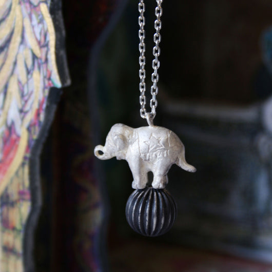 Poppin' Elephant Necklace