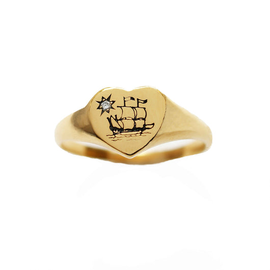 Moonlight ship ring