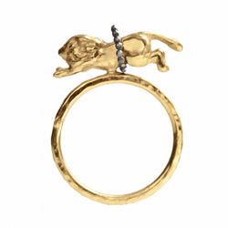 Flying Lion Ring