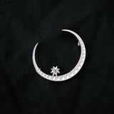 Me And The Moon Brooch