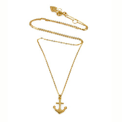 Mini Anchor Necklace