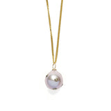 Polka Dot Pearl Necklace