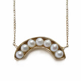 Pearl Rainbow Necklace