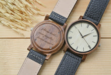 Mens Wooden Watch Engraved | 1st Anniversary Gift
