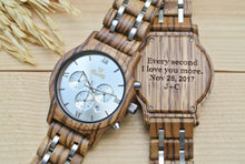Wooden Watches Engraved
