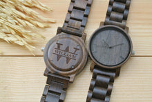 Personalized Engraved Wooden Watch for men | Gifts for Dad
