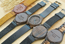 Personalized Mens Wood Watches Engraved | Birthday Gifts
