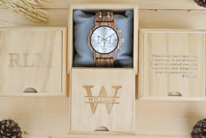 Chronograph All Zebrawood (Silver) - WW4495
