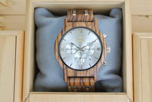 Dial of Chronograph All Zebrawood (Silver) - WW4495