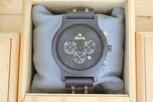 Dial of Chronograph All Dark Sandalwood (Black) - WW4491