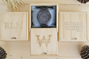 Choose Engraving Wooden watches and Engraving Wooden box