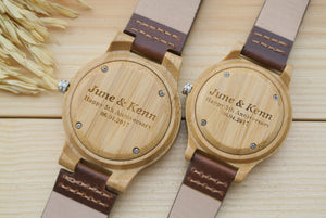 Couples Wooden Watch | Gifts for Couples