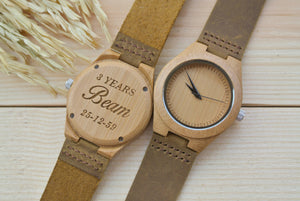 Bamboo Wooden Watches for Women | Gift for Wife