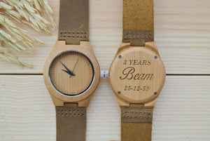 Bamboo Wooden Watch for Women | Gift for Wife