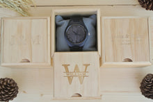 Box of Engraved Wooden Watch for Men | Boyfriend Gift