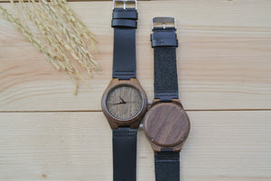 Personalized Wood Watches for Men | Groomsmen watches