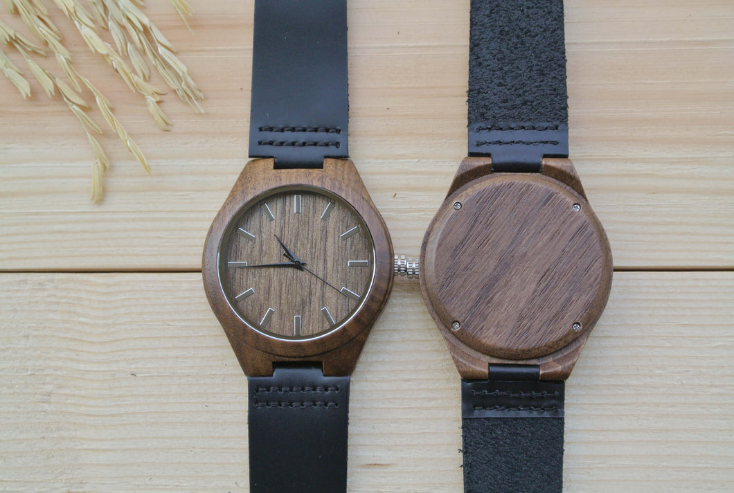 Personalized Wood Watch for Men | Groomsmen watches