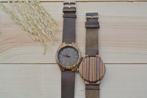 Personalized Mens Wood Watch Engraving | Watches for groom