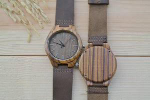 Personalized Mens Wood Watches Engraving | Watches for grooms