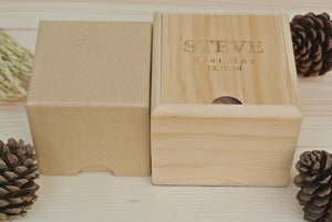 Box of Mens Wood Watches Engraving | Watch for groom