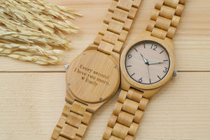 All Bamboo [No.] Wooden Watch | Perfect Gifts for Him