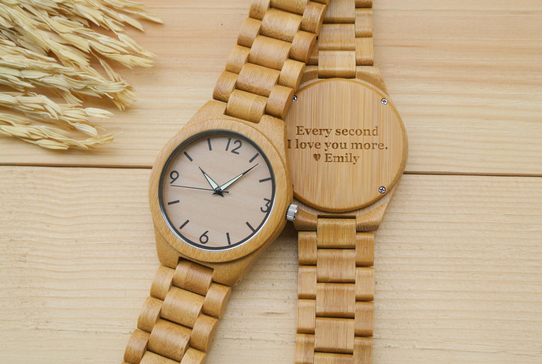 All Bamboo [No.] Wooden Watches | Perfect Gifts for Him