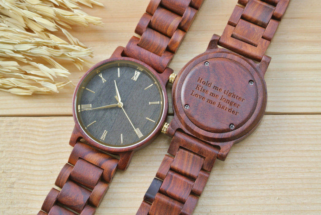 Roman All Rosewood (Gold) | Unique Birthday Gift - WW4012-1