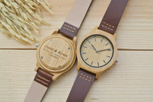 Womens Wood Watch Engraved | Anniversary Gifts for Her
