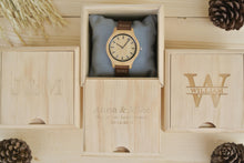 Box of Womens Wooden Watch Engraved | Anniversary Gifts for Her