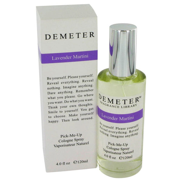 Demeter By Demeter Lavender Martini Cologne Spray 4 Oz