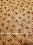 "#PGSF1 Primitive Gatherings ""Candy Canes"" Seasonal Fabric 100% Cotton Fabric"