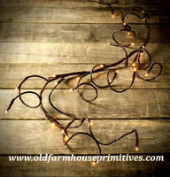 #PWTG Electric Willow Twig Garland