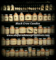 Black Crow  Candles 8 OUNCE JAR