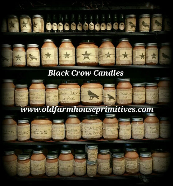 Black Crow Candles 32 OUNCE JAR