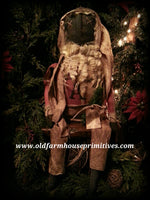 #JP11 Primitive Sitting Santa (Made In USA)