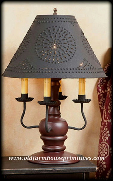 #836A Cedar Creek Lamp in Sturbridge Colors (Made In USA)