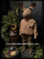 "#TIM Primitive Standing Bunny ""Timothy"" (Made IN USA)"