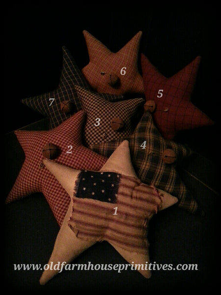 #PAS7 Primitive Americana Stars (Made IN USA)