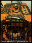 #TTB2 Farmhouse Black & Tan Braided Jute Table Top Accessories