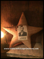 #MC19 Primitive Americana Abraham Lincoln Star (Made In USA)