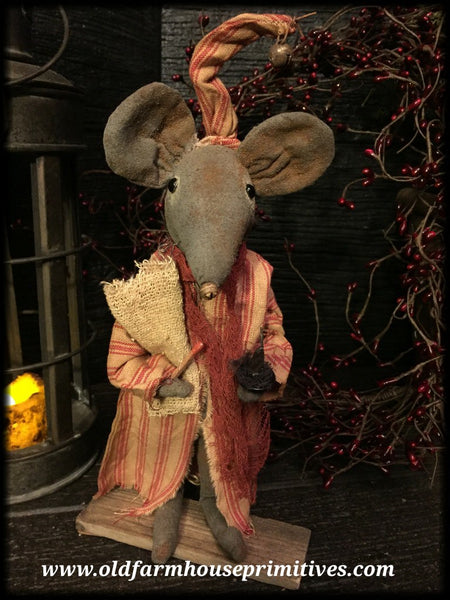 #LT39 Primitive Nighty Night Mouse (Made In USA)