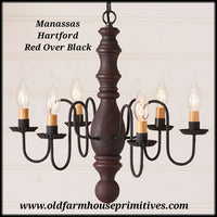 #9149H Manassas Chandelier Hartford Series (Made In USA)