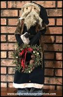 #PC25 Primitive Black Coat Santa (Made In USA)