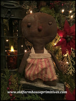 #LT58 Primitive Small Gingerbread Girl (Made In USA)