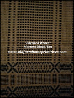#EW1 Primitive Black/Tan Edgefield Weave
