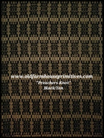 #PN2 Black/Tan Primitive Preachers Knot